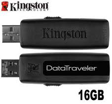 16GB Kingston DataTraveler USB Memory Stick - OEM