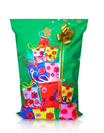 XMAS 30 Pack #7 (Large & Medium Sizes) Tear Resistant Gift Wrap