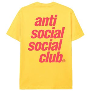 "ASSC Anti Social Social Club ""Underglow"" T-shirt"