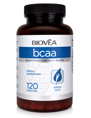 BCAA (Branched Chain Amino Acids) 120 Capsules