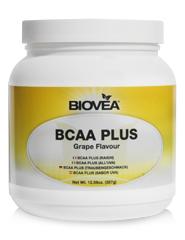 BCAA PLUS (Grape Flavour) Net Wt. (12.59oz) 357 Grams