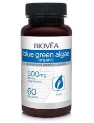 BLUE GREEN ALGAE (Organic) 500mg 60 Tablets