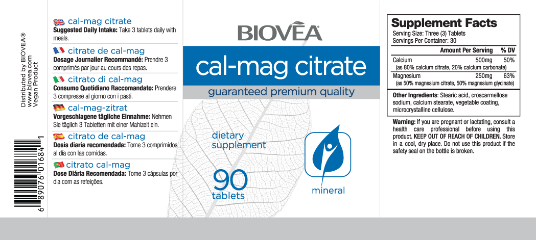 CAL-MAG CITRATE 90 Tablets