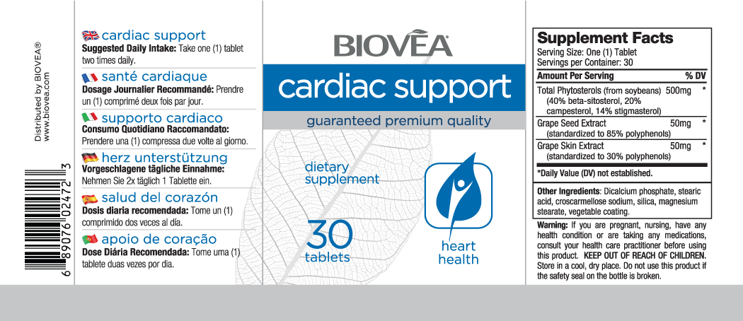 CARDIAC SUPPORT 30 Tablets