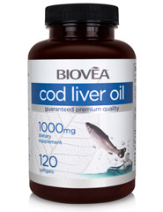 COD LIVER OIL 1000MG 120 Softgels