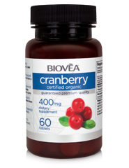 CRANBERRY (Organic) 400mg 60 Tablets