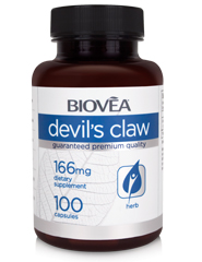 DEVIL'S CLAW 166mg 100 Capsules
