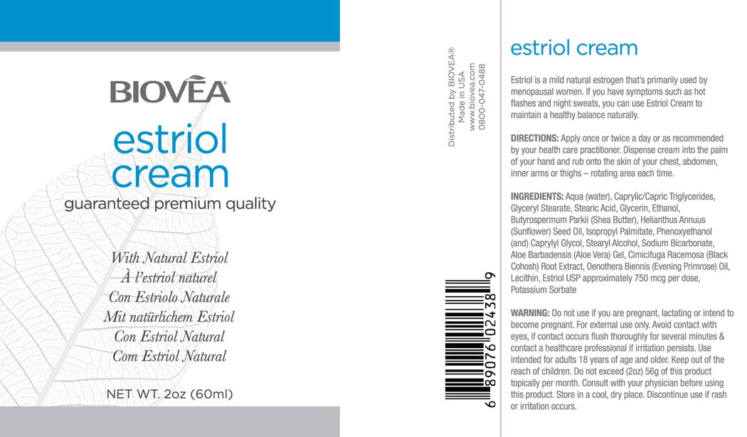ESTRIOL-CARE with Natural Estriol (2 oz) 60ml