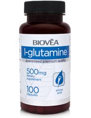L-GLUTAMINE 500mg 100 Capsules