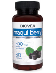 MAQUI BERRY 500mg 60 Capsules