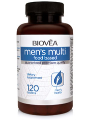 MEN'S MULTI (FOOD BASED) 120 Tablets