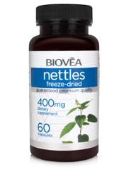 NETTLES 400mg 60 Capsules