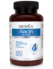 NIACIN 300mg 120 Capsules