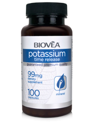 POTASSIUM (TIME RELEASE) 99mg 100 Capsules