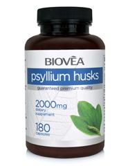 PSYLLIUM HUSKS 500mg 180 Capsules
