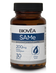 SAM-e 200mg 30 Tablets