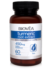 TURMERIC ROOT EXTRACT 450mg 60 Capsules