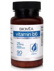VITAMIN B6 25mg 90 Tablets