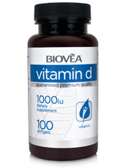 VITAMIN D 1,000 IU 100 Softgels