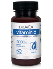VITAMIN D 2,000 IU 60 Softgels