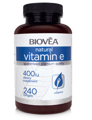 VITAMIN E 400 IU 240 Softgels