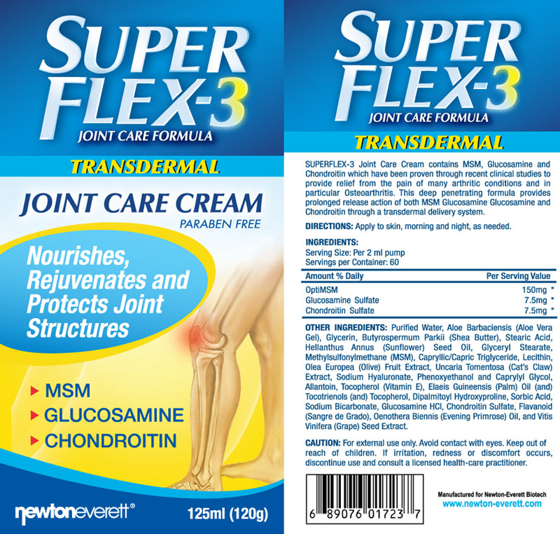 superflex 3 joint care cream 120ml. Black Bedroom Furniture Sets. Home Design Ideas