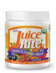 JUICE-RITE® FRUITS & GREENS BLEND (Organic) 390g