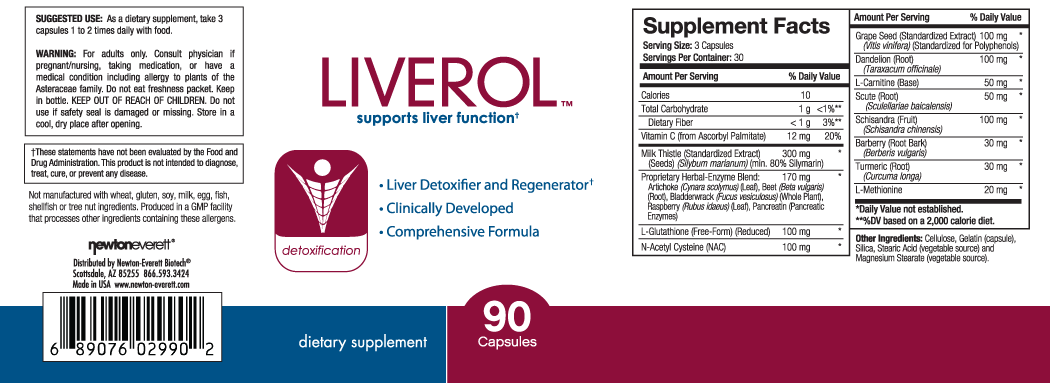 LIVEROL™ 90 Capsules