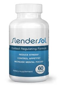 SLENDERSOL™, Cortisol Regulating Weight Loss 60 Capsules