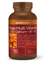 MEGA MULTI-VITAMIN (C+E+CALCIUM+B1+B2) 60 Softgels