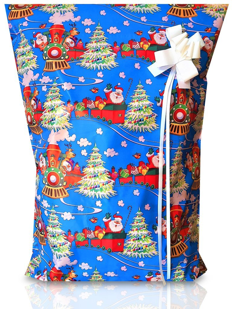 XMAS 10 Pack #2 (Large & Medium Sizes) Tear Resistant Gift Wrap