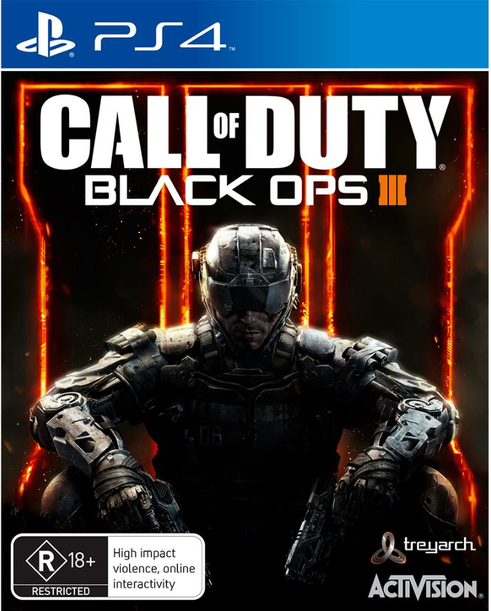 Call Of Duty Black OPS III 3 - PS4 PlayStation 4 Game As New