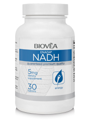 NADH 5mg 30 Tablets