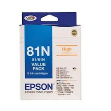 Epson 81N Genuine Mega Six Pack High Capacity
