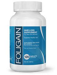 Foligain Hair Loss Treatment 120 Caplets - 3 Months Supply