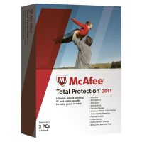 Mcafee Total Protection 2011 3 User 36 Mths update