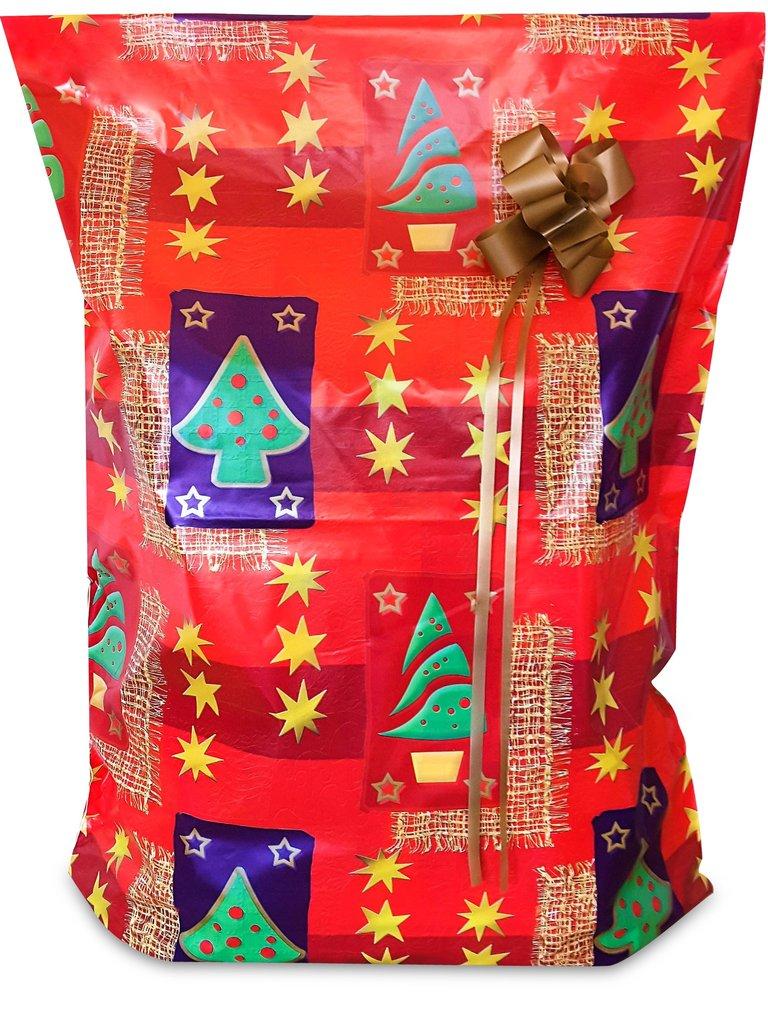 XMAS 10 Pack #2 (Large & Medium Sizes) Tear Resistant Gift Wrap