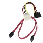 Sata Data & Power Cable Set