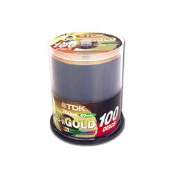 TDK Gold CD-R 700MB/80min 100 Disc Spindle